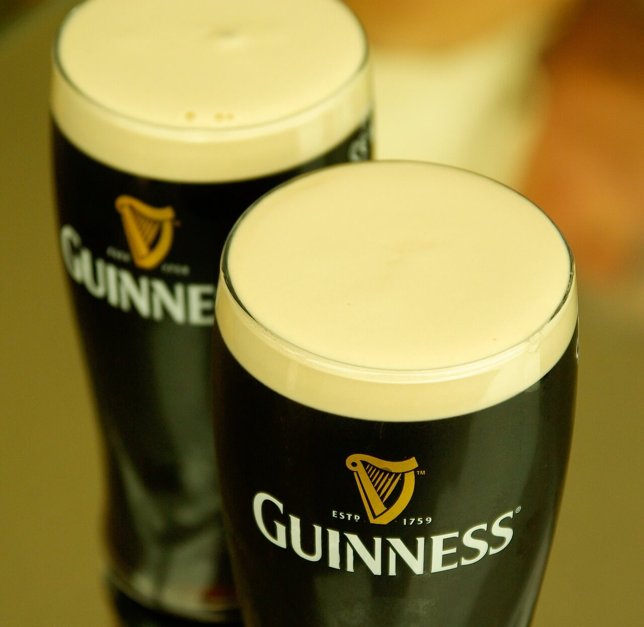2 pints of Guinness on Connemara Pub Tours with Minibus Hire Galway